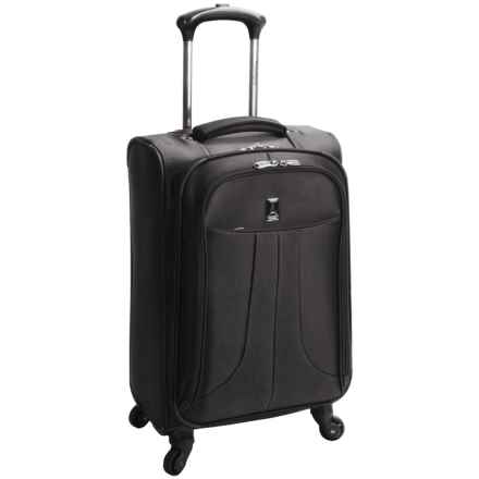"Travelpro Anthem Select Expandable Spinner Suitcase - 25"", Expandable in Black - Closeouts"