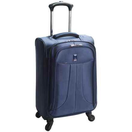 "Travelpro Anthem Select Mobile Office Carry-On Spinner Suitcase - 21"", Expandable in Blue - Closeouts"