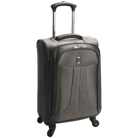 "Travelpro Anthem Select Mobile Office Carry-On Spinner Suitcase - 21"", Expandable in Gray - Closeouts"