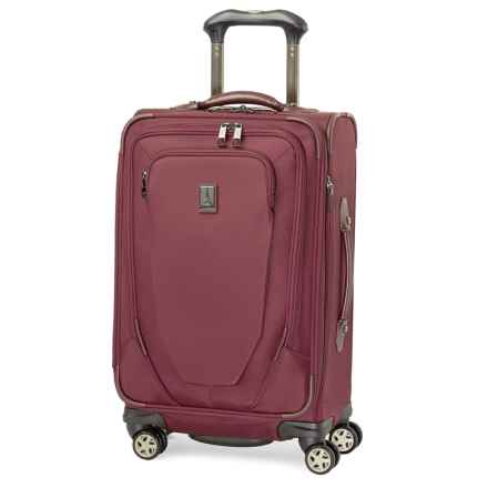 "Travelpro Crew 10 Spinner Carry-On Suitcase - 21"" in Merlot - Closeouts"