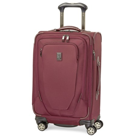 """Travelpro Crew 10 Spinner Carry-On Suitcase - 21"""" in Merlot"""