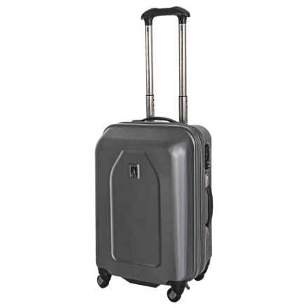 "Travelpro Crew 9 Hardside Spinner Suitcase - Expandable, Carry-On, 21"" in Titanium - Closeouts"