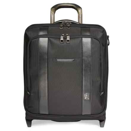 Travelpro Crew Rolling Business Overnighter Suitcase in Black - Closeouts