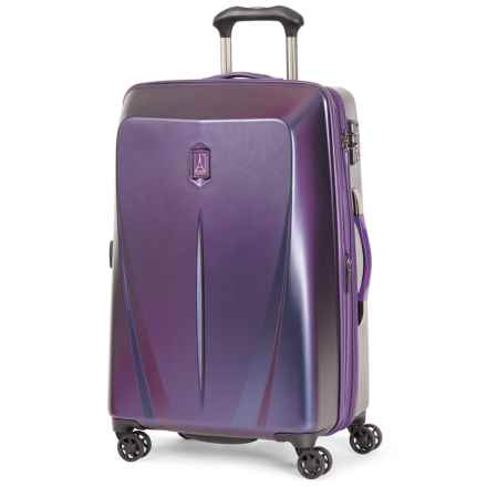 travelpro expandable hardside spinner suitcase 25u201d in purple closeouts - Travel Pro Luggage