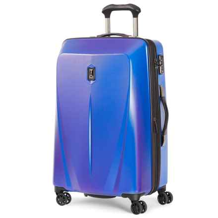 "Travelpro Expandable Hardside Spinner Suitcase - 25"" in Royal Blue - Closeouts"