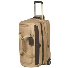 "Travelpro Kontiki Collection Expandable Drop-Bottom Duffel Bag - 26"", Rolling in Khaki - Closeouts"