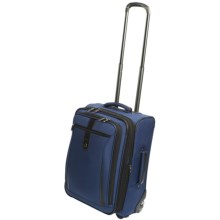 Travelpro Marquis International Expandable Carry-On Rolling Suitcase in Blue - Closeouts