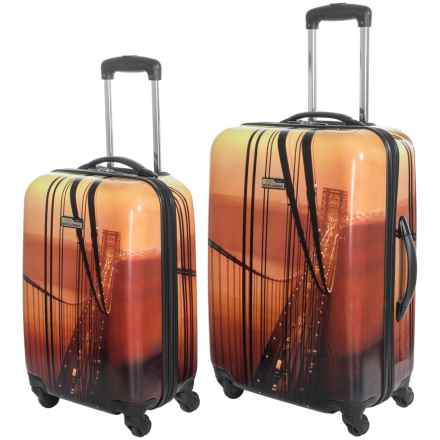 "Travelpro NG Explorer Hardside Spinner Luggage - 2-Piece Set, 20"" and 24"" in Bridge - Closeouts"