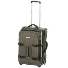 "Travelpro Northwall Collection Expandable Rollaboard Luggage - 22"" in Green/Tan - Closeouts"