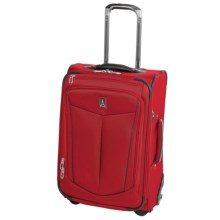 "Travelpro Nuance Expandable Rollaboard Suitcase - 22"" in Red - Closeouts"