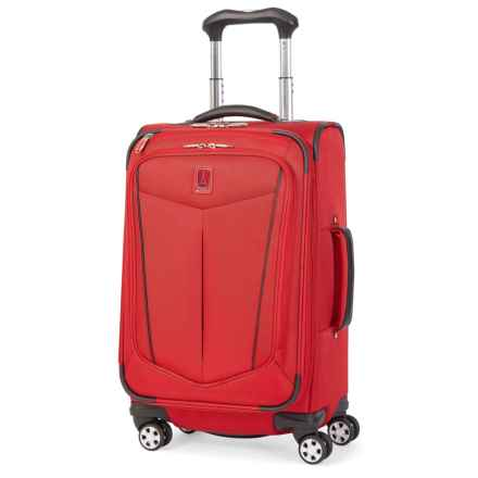"Travelpro Nuance Expandable Spinner Suitcase - 21"" in Red - Closeouts"