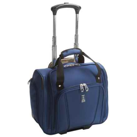 "Travelpro Sapphire Elite Rolling Under-Seat Bag - 15"" in Blue - Closeouts"