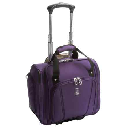 "Travelpro Sapphire Elite Rolling Under-Seat Bag - 15"" in Grape - Closeouts"