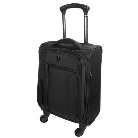 "Travelpro Toplite Elite Compact Expandable Carry-On Spinner Suitcase - 19"" in Black - Closeouts"