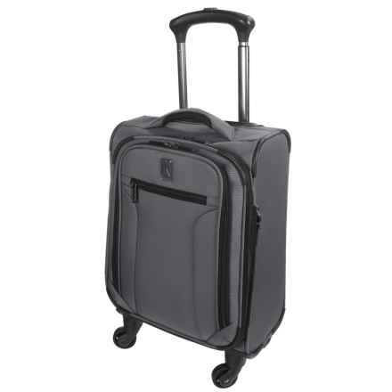 "Travelpro Toplite Elite Compact Expandable Carry-On Spinner Suitcase - 19"" in Graphite - Closeouts"