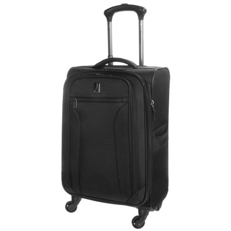 "Travelpro Toplite Elite Expandable Mobile Office Spinner Suitcase - 21"" in Black"
