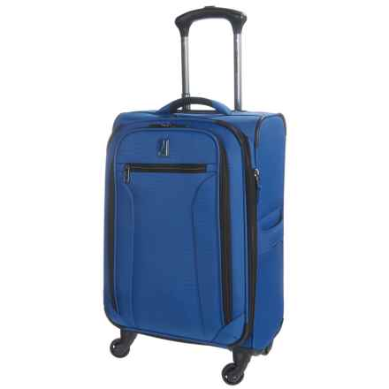 "Travelpro Toplite Elite Expandable Mobile Office Spinner Suitcase - 21"" in Bright Blue - Closeouts"
