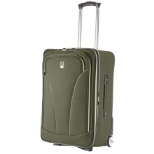 """Travelpro Walkabout Lite 3 Expandable Rollaboard Bag - 24"""" in Moss - Closeouts"""