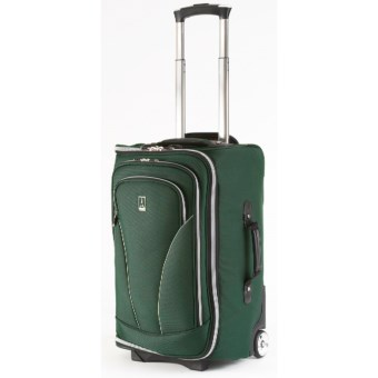 "Travelpro Walkabout Lite 3 Rolling Duffel Bag - 22"", Carry-On in Forest Green"