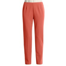 TravelSmith Indispensable Pants - Two-Way Stretch (For Women) in Coral - Closeouts