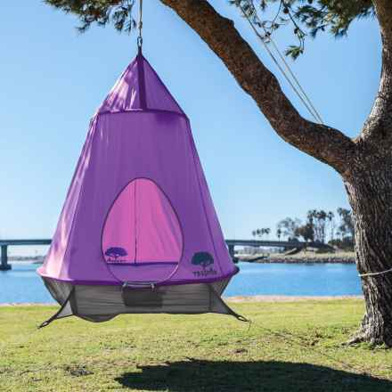 Treepod Hanging Treehouse in Purple - Closeouts