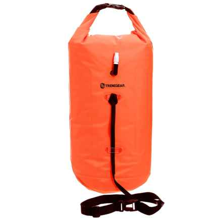 TrekGear Floating Swim Buoy - Waterproof, Inflatable, 14L in See Photo - Closeouts