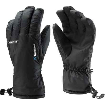Trekmates DRY Glaramara Gloves - Waterproof (For Men) in Black - Closeouts