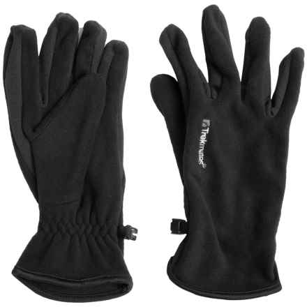 Trekmates Frostwick Fleece Gloves (For Men and Women) in Black - Closeouts