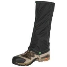 Trekmates® Gore-Tex® PacLite® Ultralite Gaiters - Waterproof (For Men) in Black/Green - Closeouts