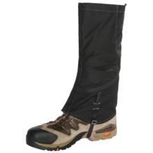Trekmates® Karakoram 2.0 Gaiters - Waterproof (For Men) in Black/Charcoal - Closeouts