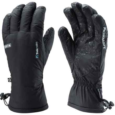 Trekmates Kinder PrimaLoft® Gloves - Waterproof, Insulated (For Women) in Black - Closeouts