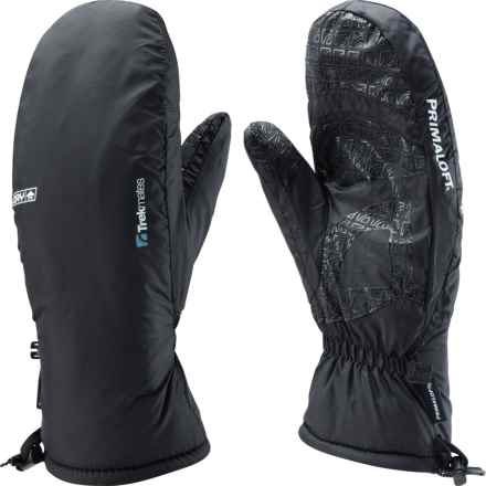 Trekmates Kinder PrimaLoft® Mittens - Waterproof, Insulated (For Women) in Black - Closeouts