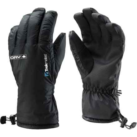 Trekmates Silverhill Gloves - Waterproof (For Women) in Black - Closeouts