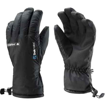 Trekmates Silverhill Gloves - Waterproof, Insulated (For Men) in Black - Closeouts