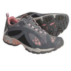 Treksta Evolution Trail Shoes - NestFIT System (For Women) in Grey/Pink