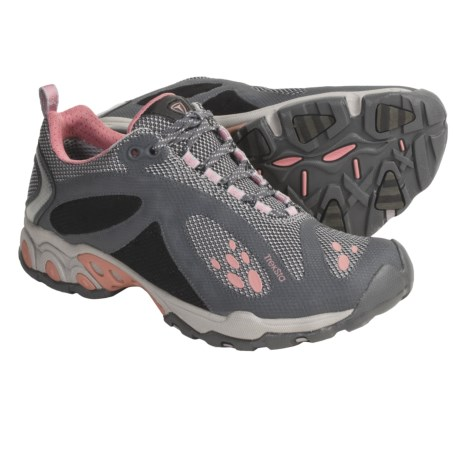 Treksta Evolution Trail Shoes - NestFIT System (For Women) in Light Blue/Grey