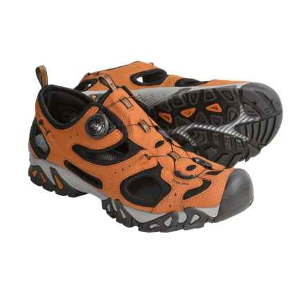 Treksta Kisatchie Multisport Sandals (For Men) in Orange/Black - Closeouts
