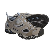 Treksta Kisatchie Multisport Sandals (For Women) in Tan/Light Blue - Closeouts