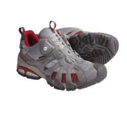 Treksta Kobra 530 Gore-Tex® XCR® Trail Running Shoes - Waterproof (For Women) in Light Grey/Red