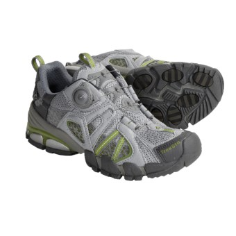 Treksta Sidewinder Trail Shoes (For Women) in Grey/Green