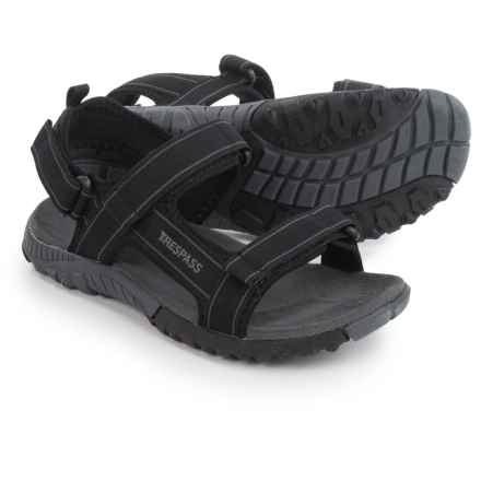 Trespass Alderley Sport Sandals (For Men) in Black - Closeouts