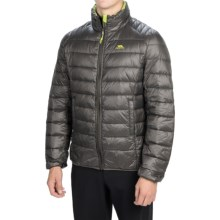 Trespass Bateman Down Jacket - 500 Fill Power (For Men) in Ash - Closeouts