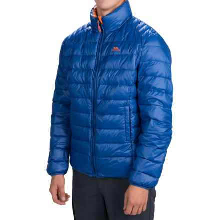 Trespass Bateman Down Jacket - 500 Fill Power (For Men) in Electric Blue - Closeouts