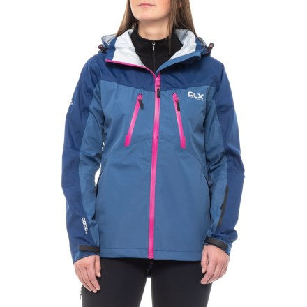 Trespass Calissa DLX Jacket - Waterproof (For Women) in Navy Tone -  Closeouts 734292308