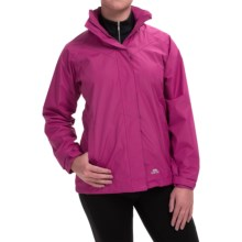 Trespass Charge Rain Jacket (For Women) in Azalea - Closeouts
