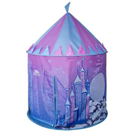 Trespass Chateau Kids Pop-Up Play Tent - UPF 50 in Ice Castle - Closeouts