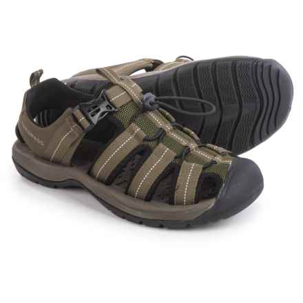 Trespass Cornice Hiking Sandals (For Men) in Khaki - Closeouts