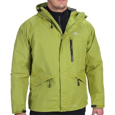 Trespass Corvo Jacket - Waterproof (For Men) in Cactus