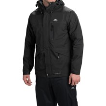 Trespass Corvo Rain Jacket - Waterproof (For Men) in Black - Closeouts