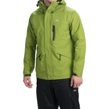 Trespass Corvo Rain Jacket - Waterproof (For Men) in Cactus - Closeouts